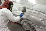 body shop paint finish